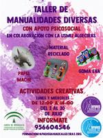 de APADIS y la unidad de Salud Mental Infantil y Juvenil Algeciras vuelven a poner en marcha actividades conjuntas