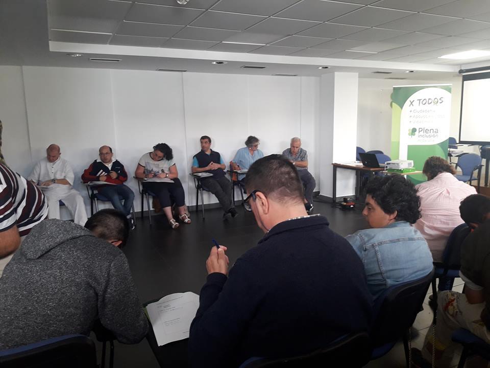 Representantes de autogestores han realizado en la jornada de hoy un curso sobre Autodeterminación organizado en Plena Inclusión Andalucía