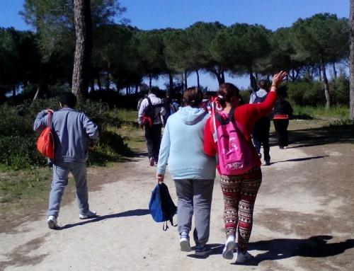 Jornada de senderismo en San Lucar.