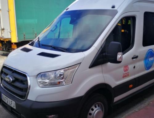 La Flota de vehículos APADIS Bahía de Algeciras aumenta para prestar mejores servicios de transporte.