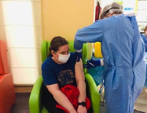 ¡En Residencia de R.A.Valme ya estamos vacunados!
